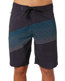 WASHED BLACK MENS CLOTHING RIP CURL BOARDSHORTS - CBOZU38264
