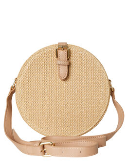 NATURAL WOVEN WOMENS ACCESSORIES BILLINI BAGS + BACKPACKS - HB12NAT