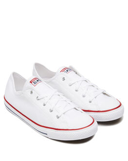 WHITE WOMENS FOOTWEAR CONVERSE SNEAKERS - 564981WHI