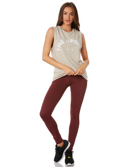 OATMEAL WOMENS CLOTHING THE UPSIDE ACTIVEWEAR - USW419045OAT