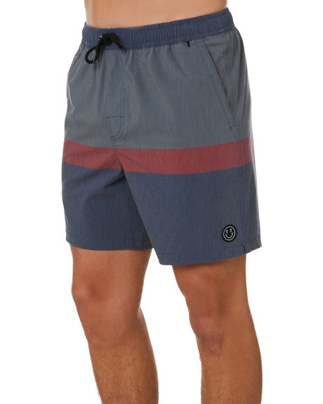 MIDNIGHT MENS CLOTHING STAY BOARDSHORTS - SBO-20401MDN