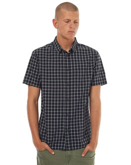 BLACK EVERYDAY MENS CLOTHING QUIKSILVER SHIRTS - EQYWT03572KVJ1