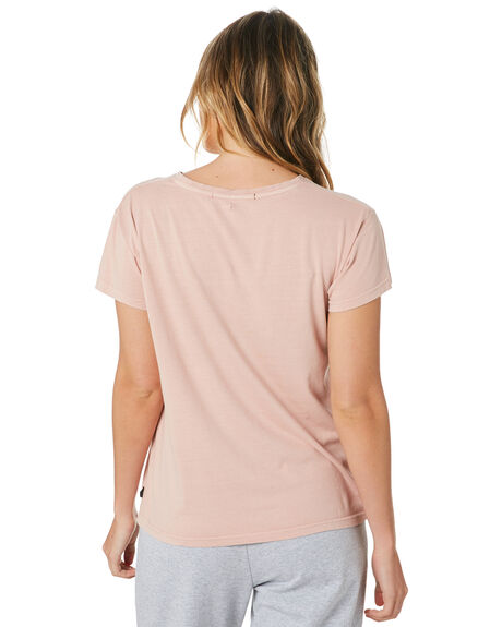 DUSTY PINK WOMENS CLOTHING SILENT THEORY TEES - 6085027PNK