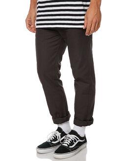 FADED BLACK MENS CLOTHING MOLLUSK PANTS - MS1278FBL