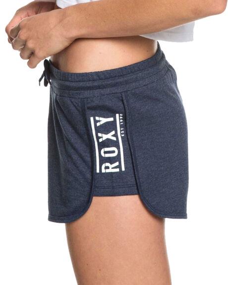 DRESS BLUES WOMENS CLOTHING ROXY SHORTS - ERJFB03209-BTK0