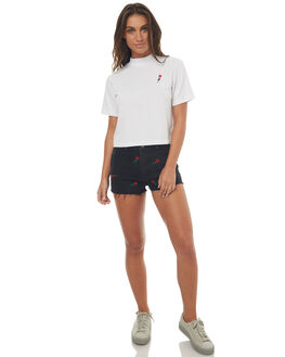 BLACK ROSE WOMENS CLOTHING WRANGLER SHORTS - W-950949-EA9BLR