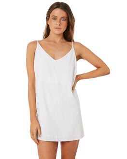 WHITE WOMENS CLOTHING BILLABONG DRESSES - 6572476WHT