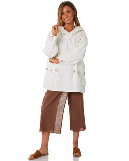 WHITE WOMENS CLOTHING SAINT HELENA JACKETS - SH18AW500-WHT
