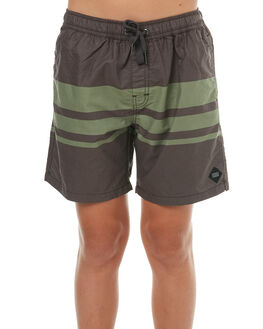 CHARCOAL KIDS BOYS SWELL BOARDSHORTS - S3183233CHAR