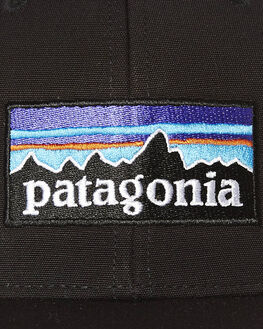 BLACK MENS ACCESSORIES PATAGONIA HEADWEAR - 38017BLK