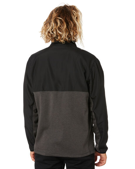 DARK GREY MARLE MENS CLOTHING RIP CURL JACKETS - CFEBG98538