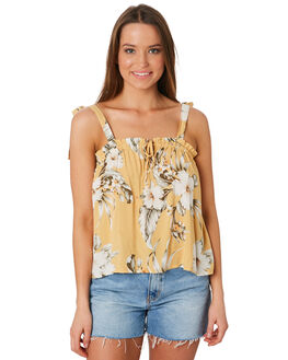 MUSTARD WOMENS CLOTHING RIP CURL FASHION TOPS - GSHCD91041