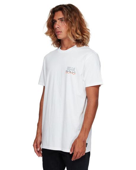 WHITE MENS CLOTHING BILLABONG TEES - BB-9591006-WHT