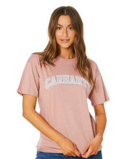 BLUSH WOMENS CLOTHING CARHARTT TEES - I02717304U00
