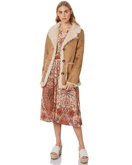 CARAMEL WOMENS CLOTHING LILYA JACKETS - AW20JKT02-CARM