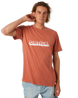 PAPRIKA MENS CLOTHING THE CRITICAL SLIDE SOCIETY TEES - TE1803PAP