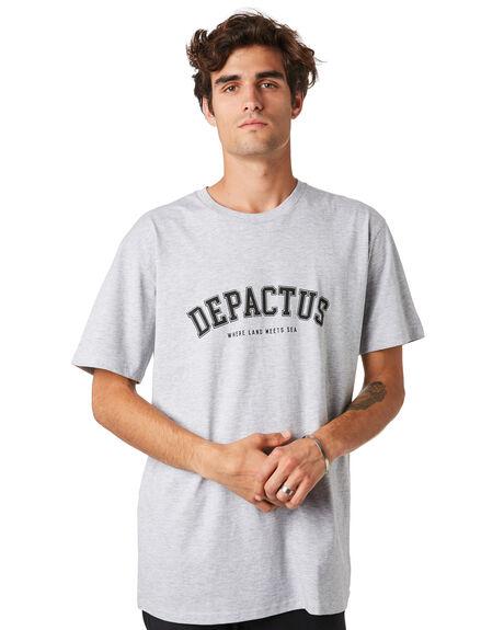 GREY MARLE OUTLET MENS DEPACTUS TEES - D5201020GRYML