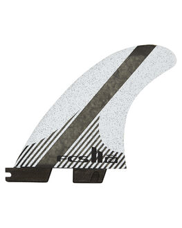 GREY BLACK BOARDSPORTS SURF FCS FINS - FFWM-CC02-MD-FS-RGRB