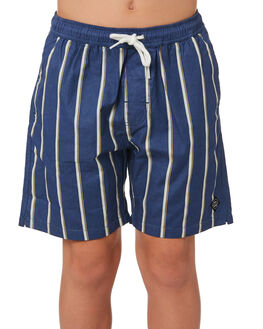 BLUE KIDS BOYS SWELL BOARDSHORTS - S3202232BLUE