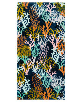 NAVY WOMENS ACCESSORIES SLOWTIDE TOWELS - ST234NVY
