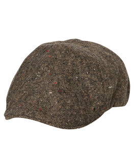 TAN MARLE MENS ACCESSORIES RUSTY HEADWEAR - HHM0427TMR
