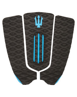 BLACK BLUE BOARDSPORTS SURF FAR KING TAILPADS - 1214BLKBL