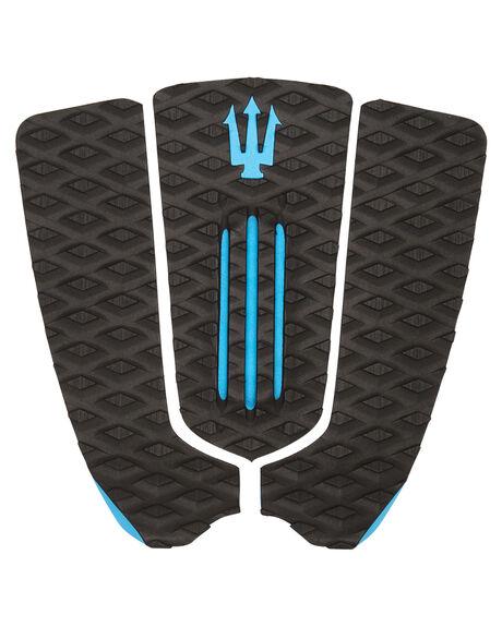 BLACK BLUE BOARDSPORTS SURF FAR KING TAILPADS - 1214BLKBL