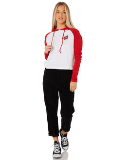 BIG RED WOMENS CLOTHING SANTA CRUZ TEES - SC-WLB8601BRED