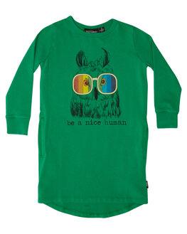 GREEN KIDS TODDLER GIRLS ROCK YOUR BABY DRESSES - TGD1863-BAGRN