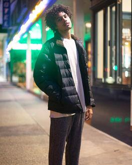 BLACK MENS CLOTHING RHYTHM JACKETS - JAN20M-JK06-BLK
