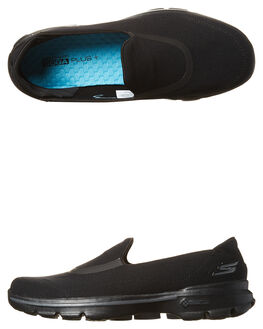 BLACK WOMENS FOOTWEAR SKECHERS SNEAKERS - 14070BBK