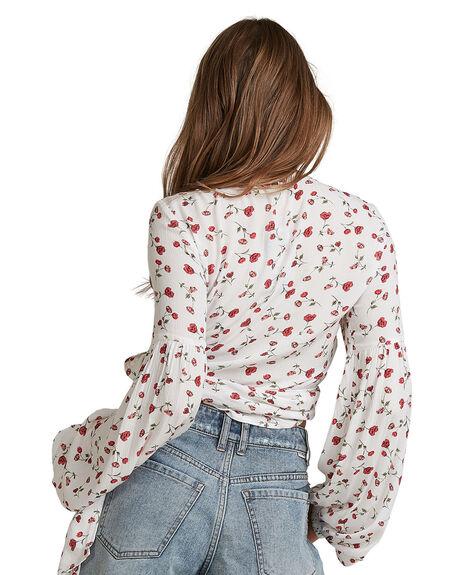 WHITE WOMENS CLOTHING BILLABONG FASHION TOPS - BB-6504155-WHT
