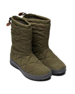DARK GREEN WOMENS FOOTWEAR BOGS FOOTWEAR BOOTS - 972238309