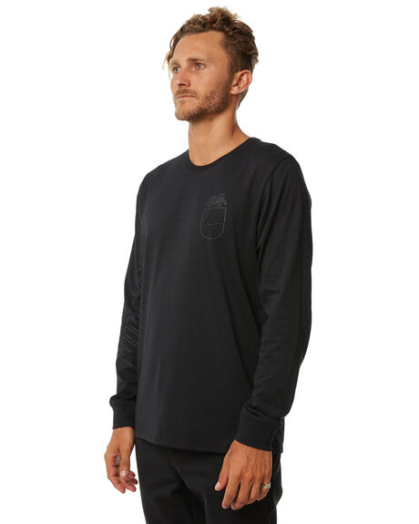 BLACK MENS CLOTHING NIKE TEES - 892819010
