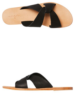 BLACK WOMENS FOOTWEAR URGE FASHION SANDALS - URG17162BLK