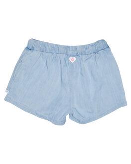 LIGHT BLUE KIDS TODDLER GIRLS EVES SISTER SHORTS + SKIRTS - 8021054LBU