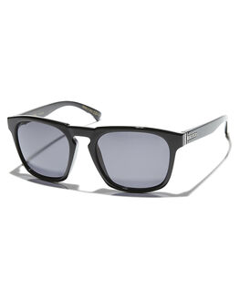 BLACK GLOSS  GREY PO MENS ACCESSORIES VONZIPPER SUNGLASSES - SMRBANPBVBKGLS