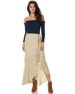 GOLDEN WILDFLOWER WOMENS CLOTHING RUE STIIC SKIRTS - JA1736PGOLD