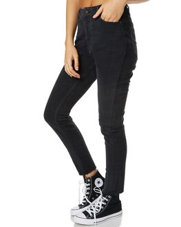 BLACK WOMENS CLOTHING THE HIDDEN WAY JEANS - H8172197BLK
