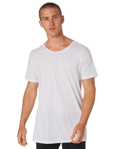 WHITE MENS CLOTHING AS COLOUR TEES - 5011WHI
