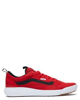 RED MENS FOOTWEAR VANS SNEAKERS - VN0A4U1KRED
