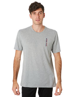 GREY HEATHER MENS CLOTHING HURLEY TEES - BV1918063