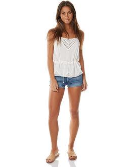 BLUE EXPLORER WOMENS CLOTHING LEVI'S SHORTS - 32317-0052BLE