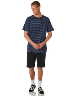 INDIGO MENS CLOTHING VOLCOM TEES - A01118R3IND
