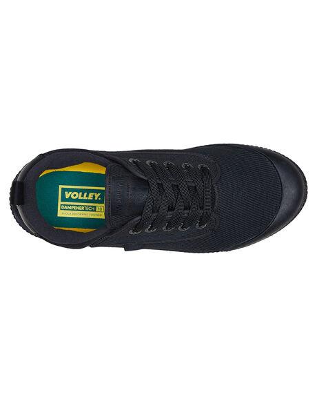 BLACK BLACK OUTLET MENS VOLLEY SNEAKERS - V74016B95