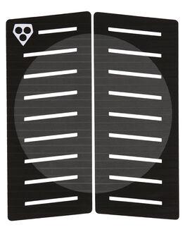 BLACK GREY SURF HARDWARE GORILLA TAILPADS - 27757BLKGY