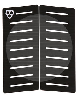 BLACK GREY BOARDSPORTS SURF GORILLA TAILPADS - 27757BLKGY