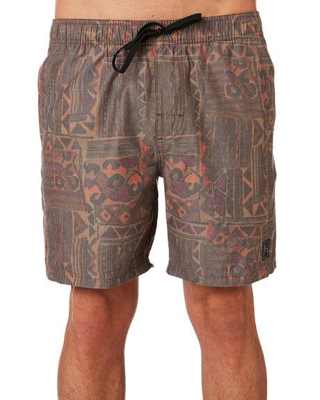 DARK COFFEE MENS CLOTHING RUSTY BOARDSHORTS - BSM1369DCF
