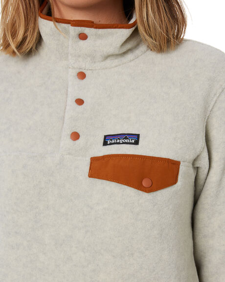 OATMEAL HEATHER WOMENS CLOTHING PATAGONIA JUMPERS - 25455OHWB