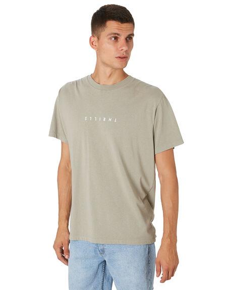 CLAY MENS CLOTHING THRILLS TEES - TH9-100GCLAY